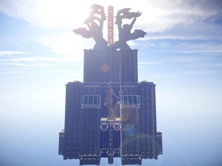 Download Prometheus Deluxe minecraft building ideas schematic tower skyscraper statue 2