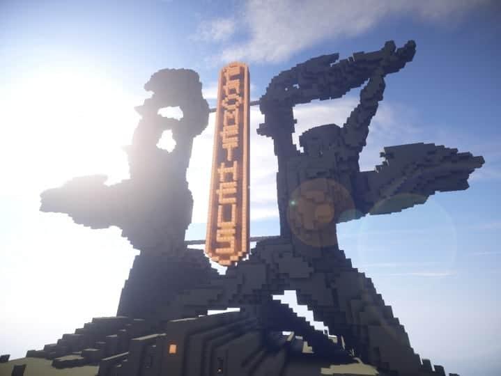 Download Prometheus Deluxe minecraft building ideas schematic tower skyscraper statue 5