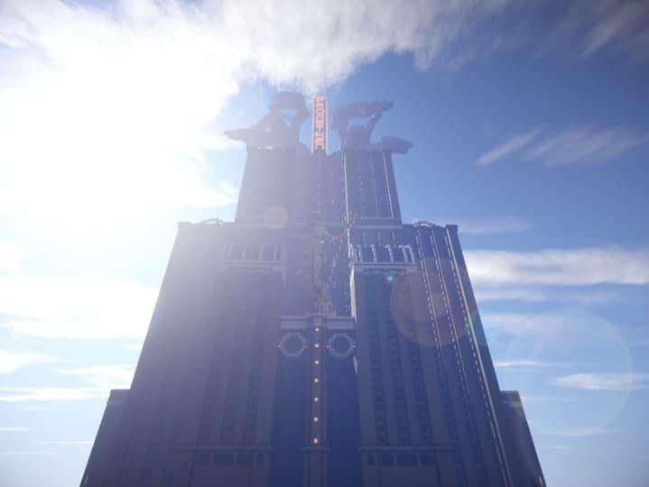 Download Prometheus Deluxe minecraft building ideas schematic tower skyscraper statue 8