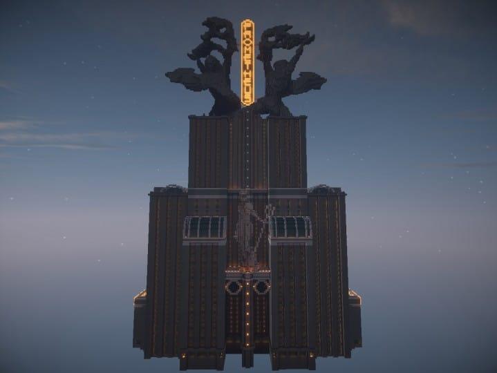 Download Prometheus Deluxe minecraft building ideas schematic tower skyscraper statue 9