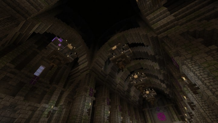 Excelsior Cathedral download foggy church castle minecraft build ideas 7