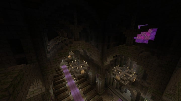 Excelsior Cathedral download foggy church castle minecraft build ideas 8