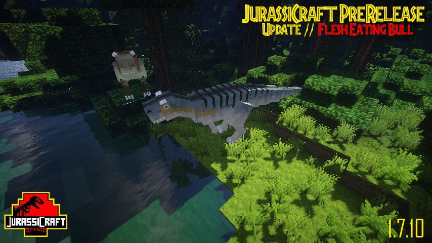 JurassiCraft [1.11.2] [1.10.2] [1.9.4] [1.7.10] / Моды для ...
