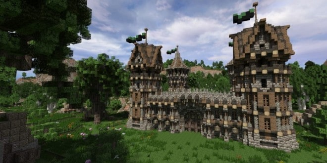 . Medieval Fort   Build your own Fort   Minecraft Building Inc