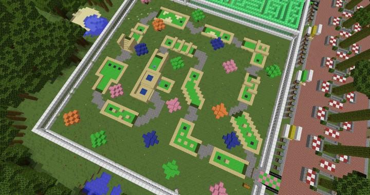 MinePark A Minecraft Theme Park building ideas fun download cool world 14