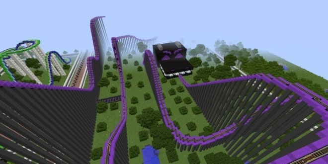 MinePark A Minecraft Theme Park building ideas fun download cool world 8