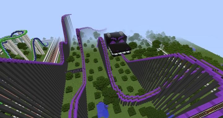 MinePark A Minecraft Theme Park building ideas fun download cool world 8