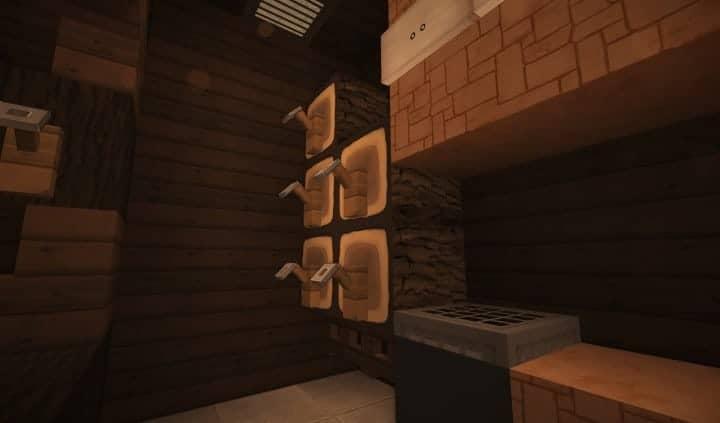 Oslo Bar & Grill Wok minecraft building ideas modern town 10