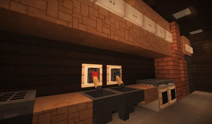 Oslo Bar & Grill Wok minecraft building ideas modern town 11