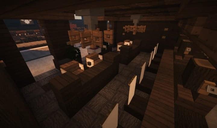 Oslo Bar & Grill Wok minecraft building ideas modern town 15