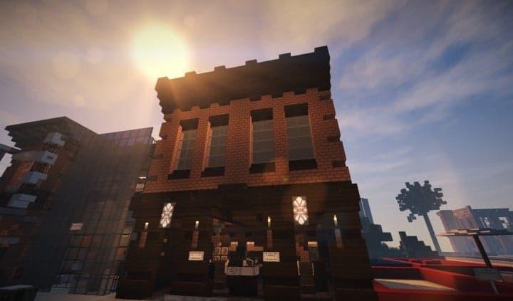 Oslo Bar Amp Grill Wok Minecraft Building Inc