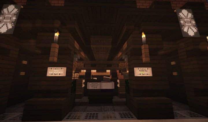 Oslo Bar & Grill Wok minecraft building ideas modern town 4