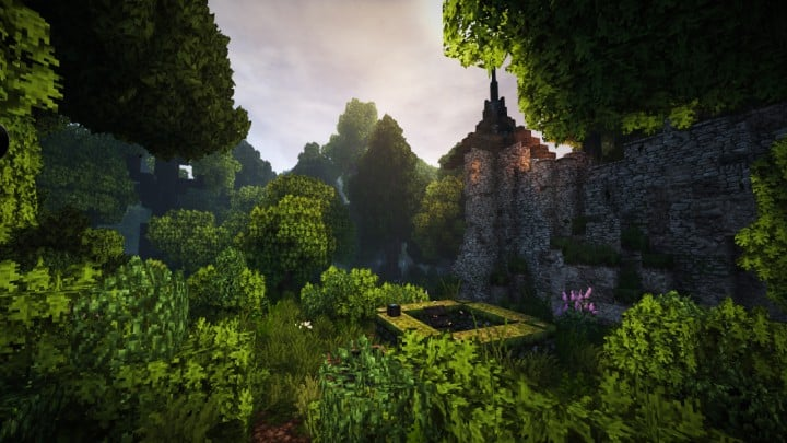 Stadtfelsen a medieval castle minecraft building ideas download mountains 05