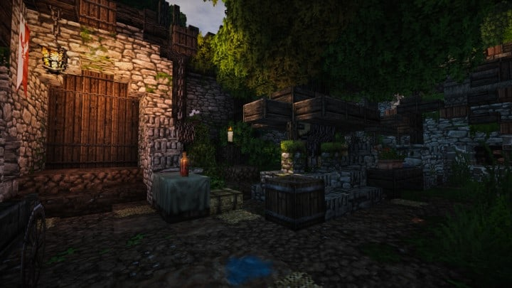 Stadtfelsen a medieval castle minecraft building ideas download mountains9