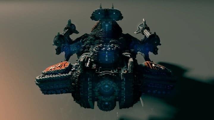 Starcraft 2 Minotaur Battlecruiser Minecraft building ideas space strategy game 4
