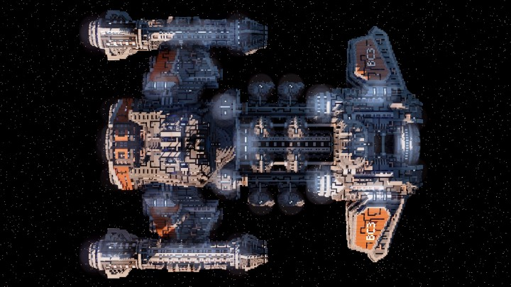 Starcraft 2 Minotaur Battlecruiser Minecraft building ideas space strategy game 6