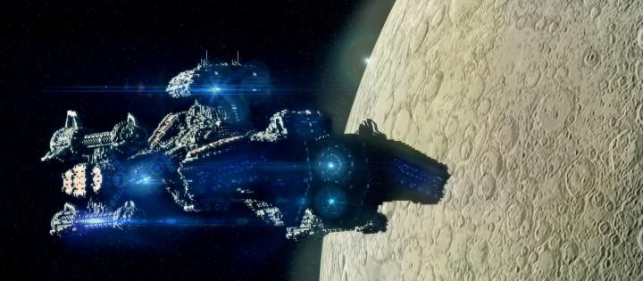 Starcraft 2 Minotaur Battlecruiser Minecraft building ideas space strategy game
