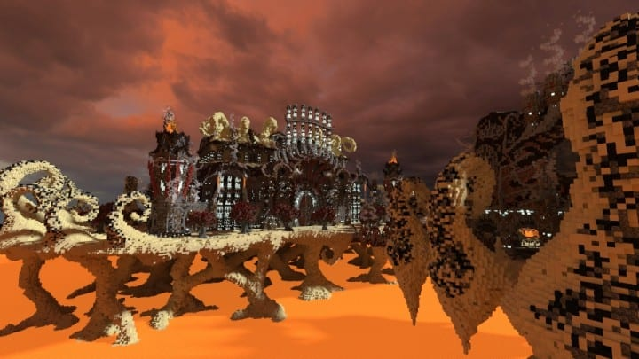 Tenekral Matthieu Deep Academy Application minecraft building ideas fantasy floating clouds 3