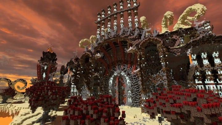 Tenekral Matthieu Deep Academy Application minecraft building ideas fantasy floating clouds 4
