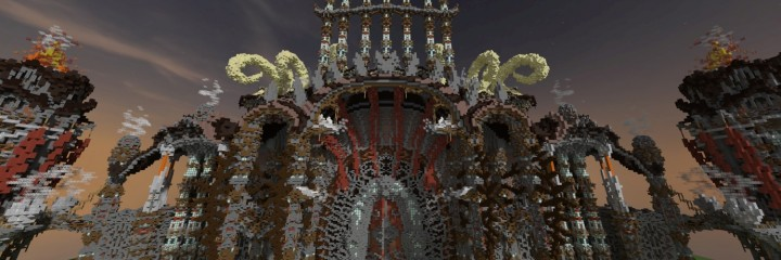 Tenekral Matthieu Deep Academy Application minecraft building ideas fantasy floating clouds 6