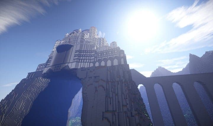 The Eyrie Game of Thrones Minecraft building ideas downlaod save tv show hbo 10