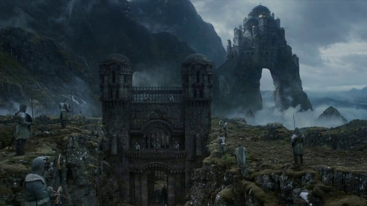 The Eyrie Game of Thrones Minecraft building ideas downlaod save tv show hbo 2