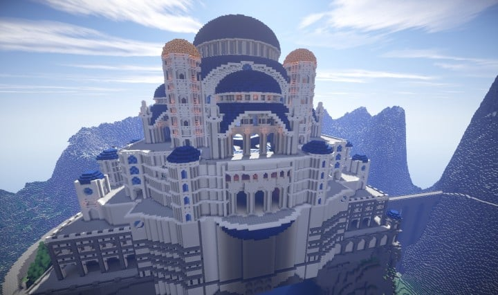 The Eyrie Game of Thrones Minecraft building ideas downlaod save tv show hbo 4