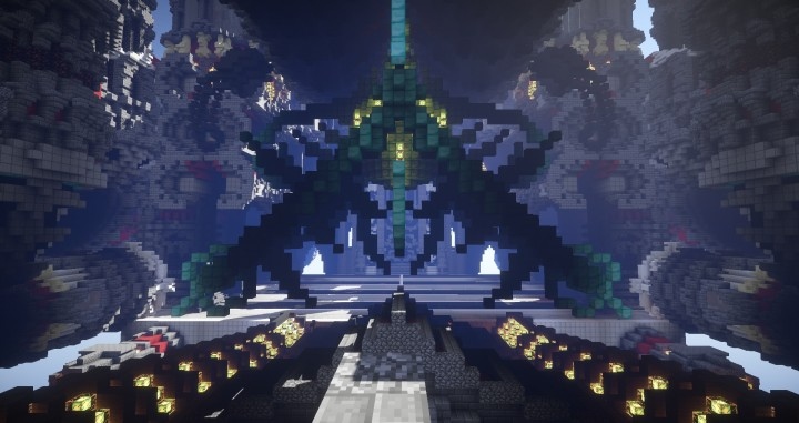 The Fear of Space Rendered Cinematic minecraft building ideas download city 4