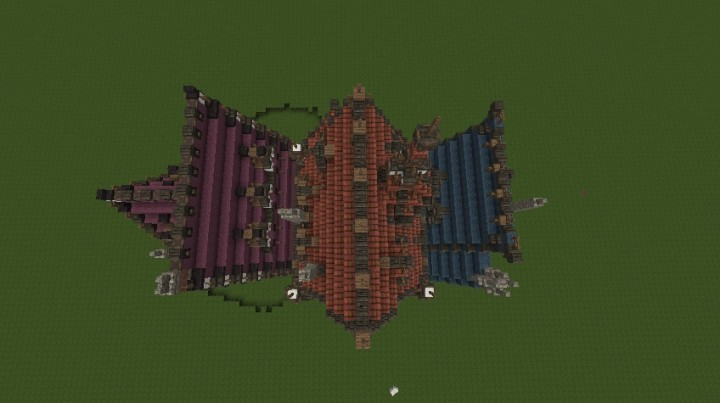 Three merovian houses minecraft building ideas download medieval 6