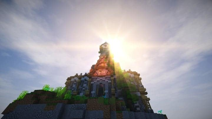 prof_artifex tower of time minecraft building ideas clock floating download 6