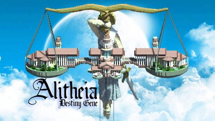 Alitheia Wings of Justice Modern Organic Greek Courthouse minecraft amazing builds