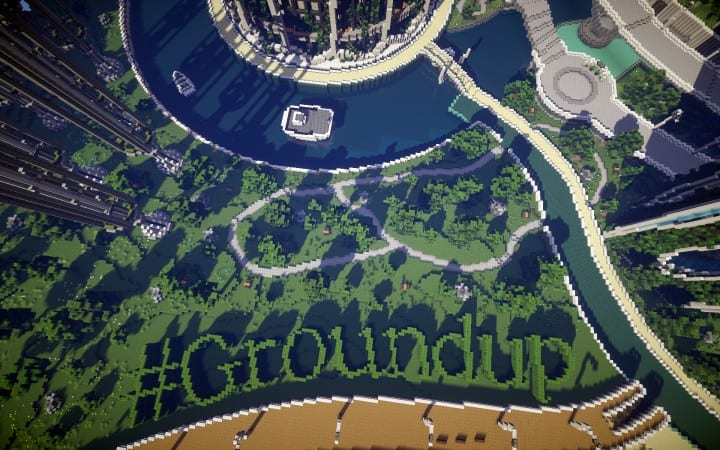 Climate Hope City Minecraft building ideas download amazing crazy dome 6