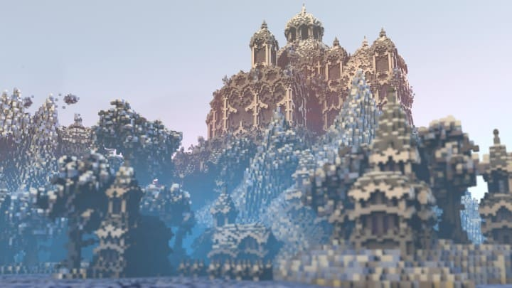 Laorën Minecraft awesome build ideas download save 3