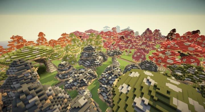 Mushroom repository minecraft building ideas lentebriesje download terrain decor 3
