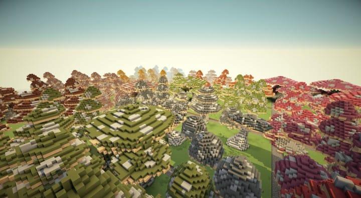 Mushroom repository minecraft building ideas lentebriesje download terrain decor 4