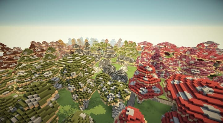 Mushroom repository minecraft building ideas lentebriesje download terrain decor 5