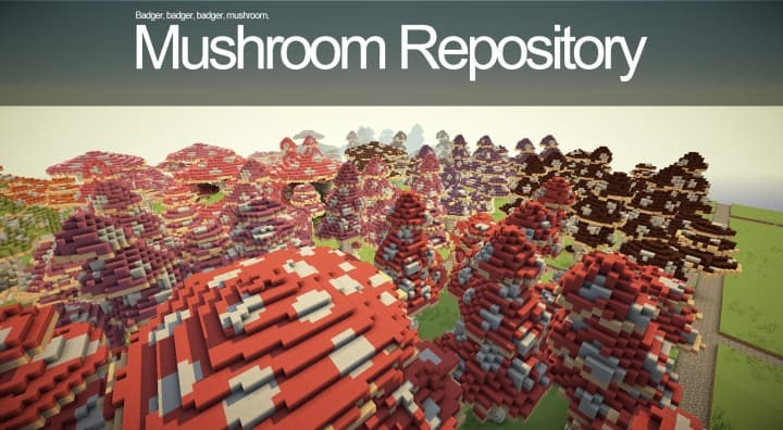 Mushroom repository minecraft building ideas lentebriesje download terrain decor