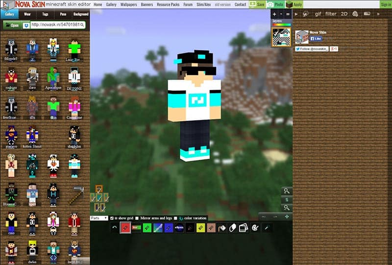 Nova skin minecraft generator how to make your own amazing