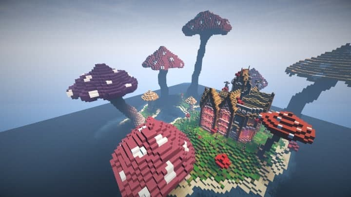 The Mushroom Mansion minecraft creative building ideas unique huge 10