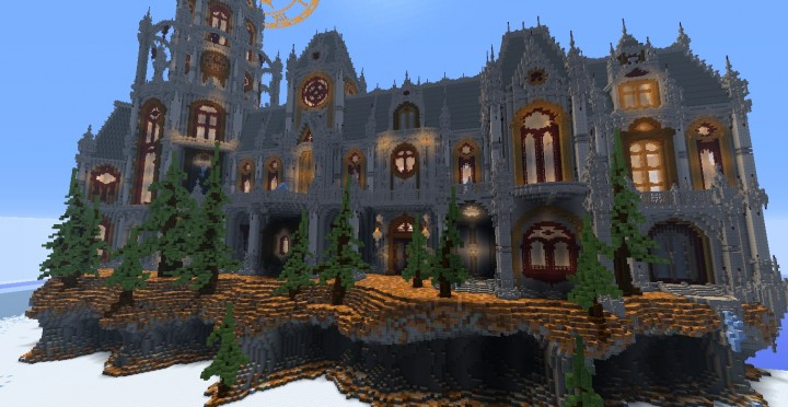 The land of Whisper 1 The Academy minecraft building ideas amazing awesome church 14