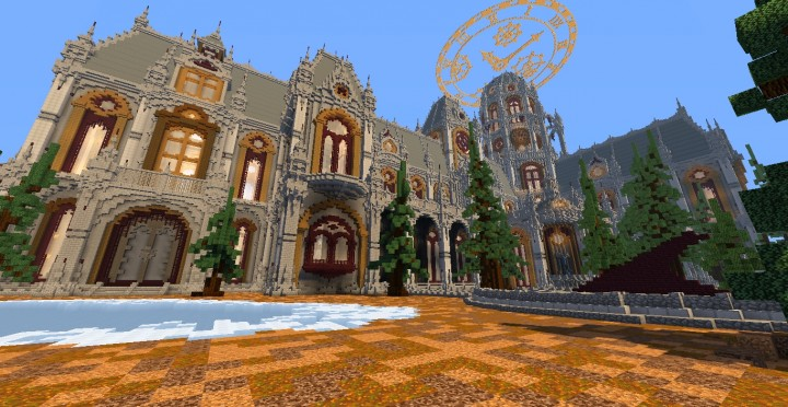 The land of Whisper 1 The Academy minecraft building ideas amazing awesome church 15