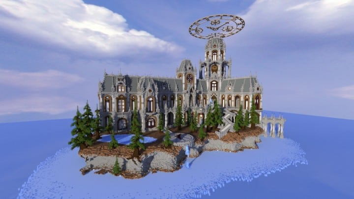 The land of Whisper 1 The Academy minecraft building ideas amazing awesome church 4