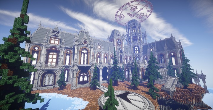 The land of Whisper 1 The Academy minecraft building ideas amazing awesome church 9