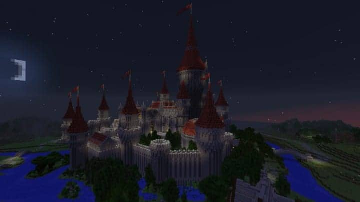 Tshara's Fantasy castle minecraft building ideas download amazing huge 4