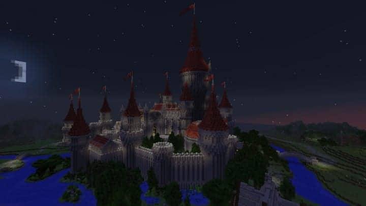 Tshara's Fantasy castle minecraft building ideas download amazing huge 4
