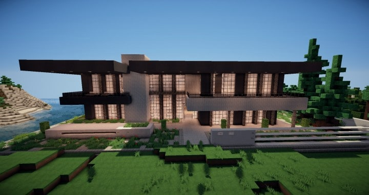 Zentoro A Conceptual Modern home minecraft building ideas download schematic amazing beautiful 2