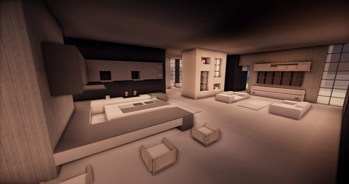 Zentoro A Conceptual Modern home minecraft building ideas download schematic amazing beautiful 3