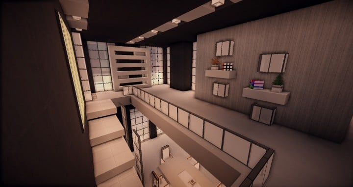 Zentoro A Conceptual Modern home minecraft building ideas download schematic amazing beautiful 5