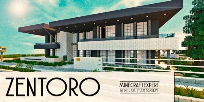 Zentoro A Conceptual Modern home minecraft building ideas download schematic amazing beautiful
