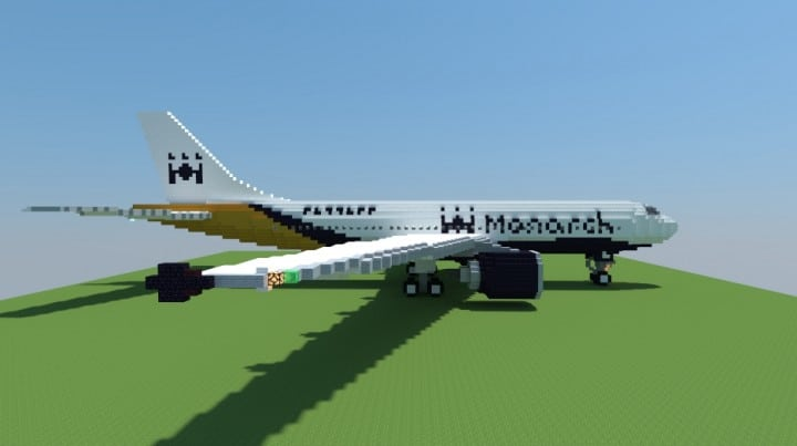Airbus A300-600 Monarch Airlines airplane fly wings big plane download amazing 2